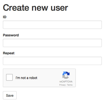 Spring reCAPTCHA v2 0 Form Validation